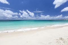 Beautiful Caribbean Beaches from Saint Martin, Sint Maarten Cari Stock Photo