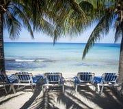 Beautiful caribbean sandy beach Royalty Free Stock Photo