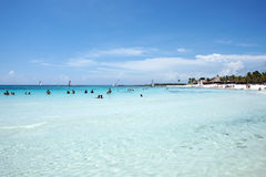 Beautiful Caribbean Sea Royalty Free Stock Photo