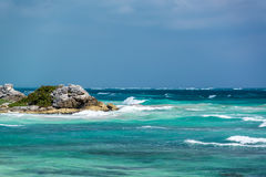 Beautiful Caribbean Sea View Stock Photo