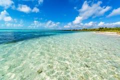 Beautiful Caribbean Sea Royalty Free Stock Photos