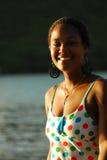 beautiful Caribbean woman Royalty Free Stock Photos
