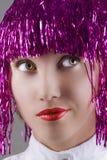 Beautiful carnival girl Stock Image