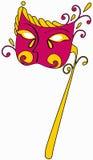 Beautiful carnival mask Stock Image