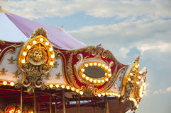 Beautiful carousel Stock Images