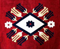 Beautiful Carpet Motif Stock Images