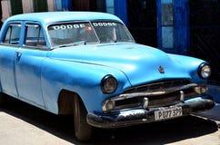 Beautiful cars of  Cuba, Havana Royalty Free Stock Images