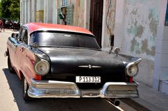 Beautiful cars of  Cuba, Havana Stock Photography