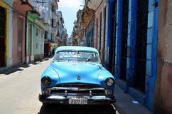Beautiful cars of  Cuba Stock Photo