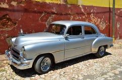 Beautiful cars of Cuba, Trinidad Royalty Free Stock Images
