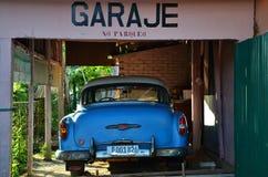 Beautiful cars of  Cuba, in Vinales Stock Image