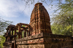 Beautiful carved ancient Jain temples constructed in 6th century AD in Osian, India. Stock Image