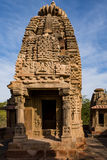 Beautiful carved ancient Jain temples constructed in 6th century AD in Osian, India. Royalty Free Stock Images