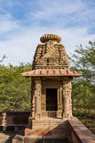 Beautiful carved ancient Jain temples constructed in 6th century AD in Osian, India. Stock Photos