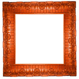 Beautiful carved frame Royalty Free Stock Photography