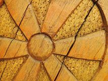 Carving wooden surface texture Royalty Free Stock Photo