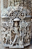 Beautiful Carving at Sun Temple Stock Photo