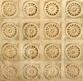 Carving Design. Beautiful carving work on stone at ranakpur temple royalty free stock image