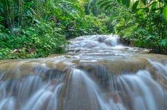 Beautiful cascade Stock Images