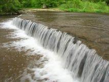 Des Plaines Conservation Area Illinois. Beautiful cascade on Prairie Creek of the Des Plaines Conservation Area in Illinois Stock Images