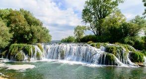 Beautiful cascade water fall Royalty Free Stock Image