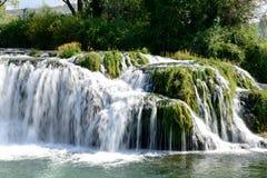 Beautiful cascade water fall Royalty Free Stock Photos