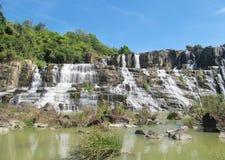 Beautiful cascade waterfall Stock Photo