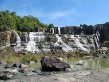 Beautiful cascade waterfall Royalty Free Stock Photos