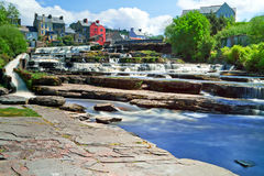 Beautiful cascades of Ennistymon Royalty Free Stock Image