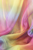 Beautiful Cascading Chiffon Background Royalty Free Stock Photo