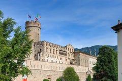 Beautiful Castello del Buonconsiglio en Trento, Italia foto de archivo libre de regalías