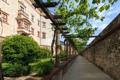 Beautiful Castello del Buonconsiglio en Trento, Italia fotografía de archivo