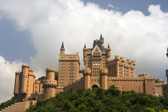 Beautiful castle Royalty Free Stock Images
