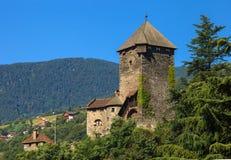 Beautiful Castle of Chiusa Stock Image