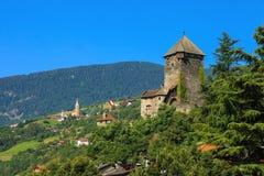 Beautiful Castle of Chiusa Royalty Free Stock Photos