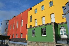 Colorful Dublin Castle in Ireland royalty free stock photo