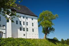 Beautiful Castle of Dragsholm, Zeland, Denmark. Stock Images
