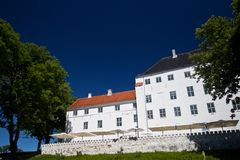Beautiful Castle of Dragsholm, Zeland, Denmark. Royalty Free Stock Photo