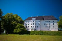 Beautiful Castle of Dragsholm, Zeland, Denmark. Stock Image