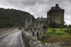 The beautiful Castle of Eilean Donan in Scotland Royalty Free Stock Photography