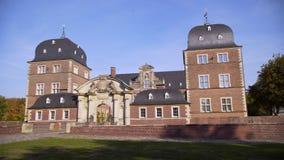 Beautiful castle in Germany stock footage