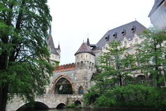 beautiful castle History mystery tale stock photography