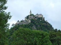Beautiful castle Hochosterwitz, Carinthia. Austria Royalty Free Stock Photos