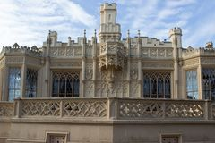 Castle Lednice Royalty Free Stock Images