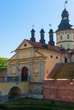 Beautiful castle in Nesvizh, Belarus Stock Photos