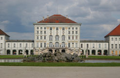 Beautiful castle nymphenburg. In munich Stock Photography