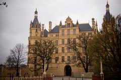 Beautiful Castle in Schwerin Stock Image