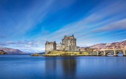 Beautiful Castle, Scotland Stock Photos
