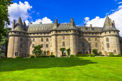 Beautiful castles of France series Royalty Free Stock Images