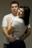 Beautiful casual couple Stock Photo